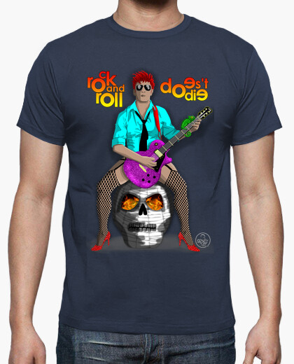 Rock and roll does not die t-shirt