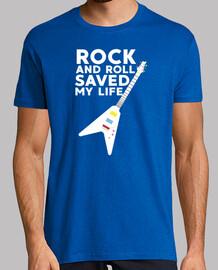 rock and roll m'a sauvé la vie - musique, guitare, rock