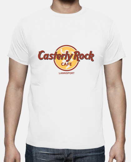 rock cafe casterly - hombre camiseta