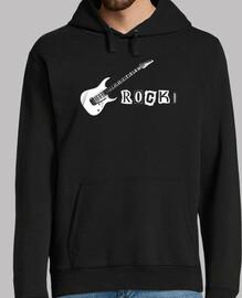 rock! (chitarra) felpa