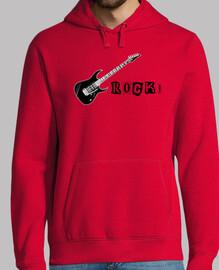 rock! (chitarra) felpa 2