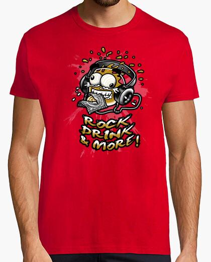 Camiseta Rock Drink and More C. Oscura Chico Manga Corta