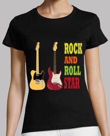 rock electric guitars