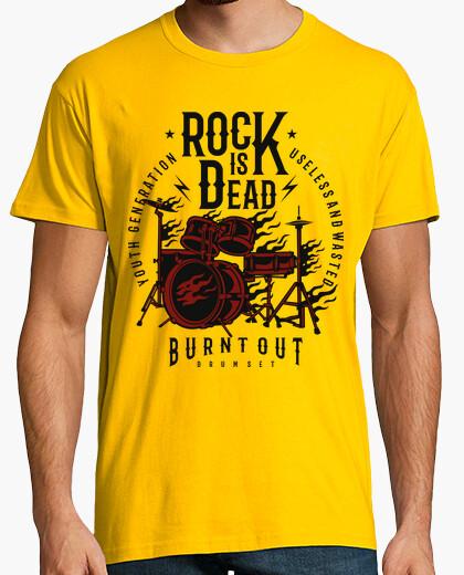Tee-shirt rock est dead 2