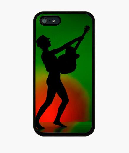 Funda iPhone Rock Girl, silhouette