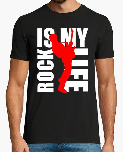 Tee-shirt rock is my life