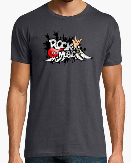 Camiseta Rock Music