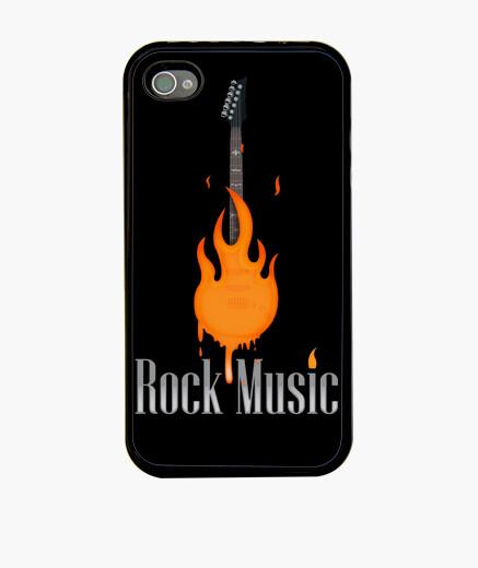 Funda iPhone Rock Music Fire