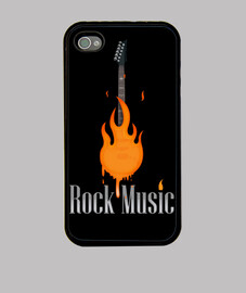 rock music fire
