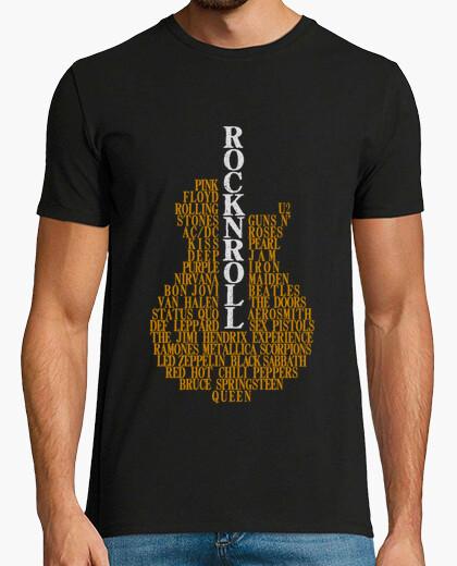 T-shirt Rock n roll - chitarra