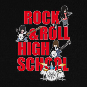 Camisetas ROCK N' ROLL HIGH SCHOOL