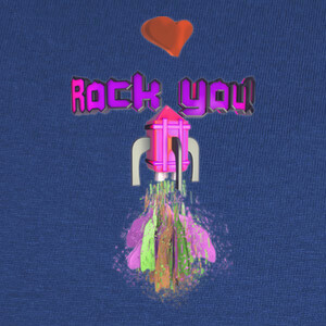 Camisetas Rock You! Love