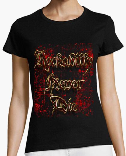 Tee-shirt rockabilly gold (m)