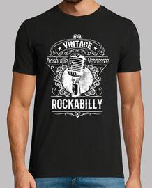 rockabilly music nashville tennessee vintage rétro rock n roll rockers USA t-shirt