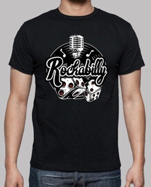 rockabilly music vintage rock and roll usa rockers retro t shirt