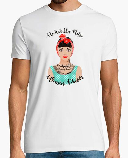 Camiseta Rockabilly Pin up1