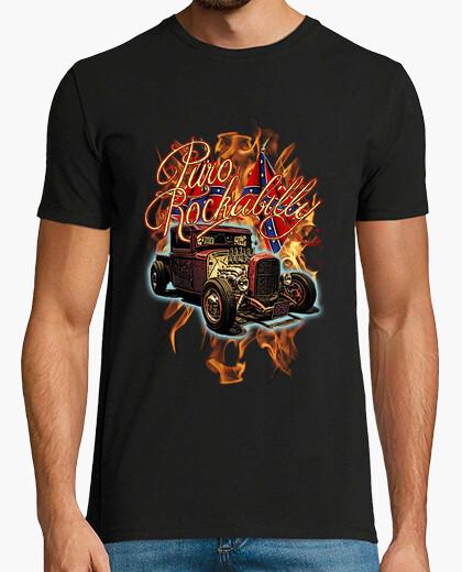 Tee-shirt Rockabilly pur