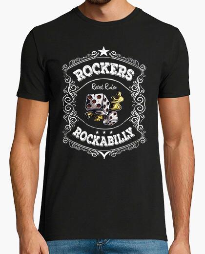 Tee-shirt rockabilly rockers pour toujours
