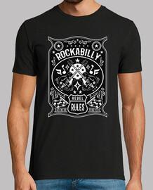 rockabilly rockers vintage rock and roll bikers usa rock music t shirt