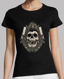 rockabilly skull psychobilly rockers retro bikers usa rock music t shirt