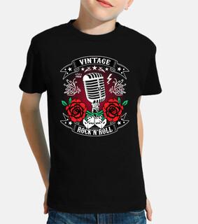 rockabilly vintage 1968 rocker rock and roll microfono