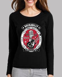rockabilly vintage guitar rock and roll usa rock music 1958 t-shirt