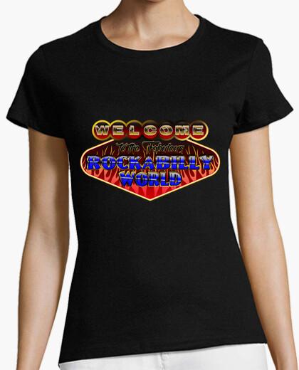 Rockabilly world t-shirt