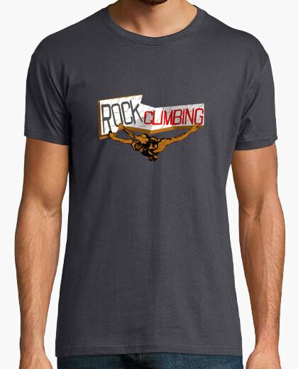 Camiseta Rockclimbing chico.