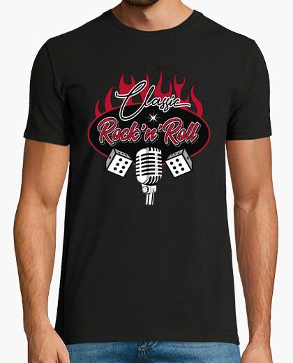 Tee-shirt Rocker rétro t-shirt graisseur rockabilly rockers rock and roll vintage