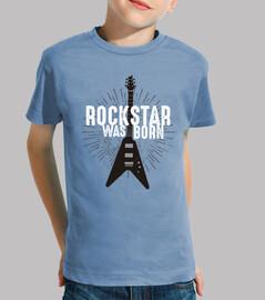 rockstar est né - vêtements pour enfants