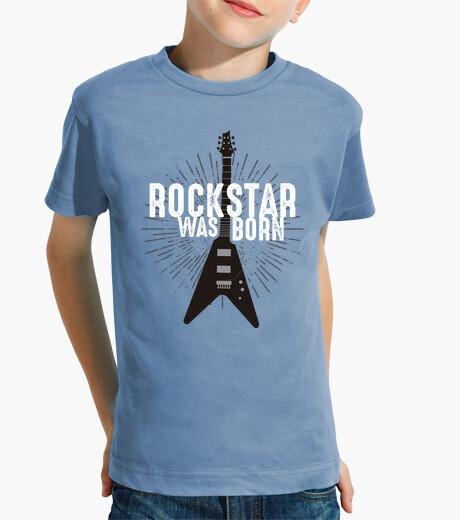Ropa infantil Rockstar Was Born - Kids apparel