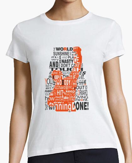 Camiseta Rocky Balboa para mujer