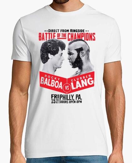 Camiseta Rocky Balboa vs Clubber Lang (Rocky III)