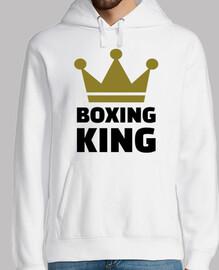 roi de boxe gagnant