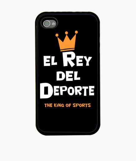 Coque iPhone roi du sport