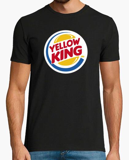 Tee-shirt roi jaune