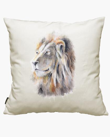 Housse de coussin roi lion