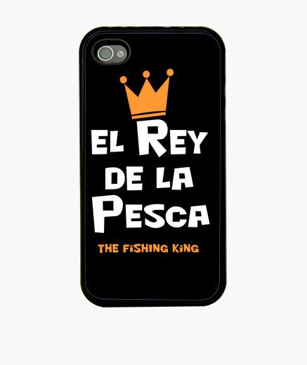 Coque iPhone roi pêche
