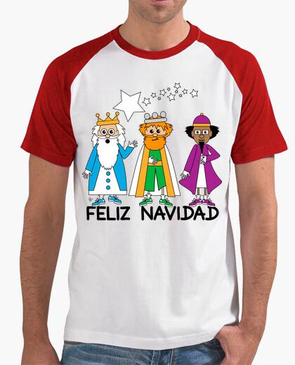 Tee-shirt rois Mages Joyeux Noël