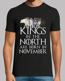 rois nés de novembre du nord