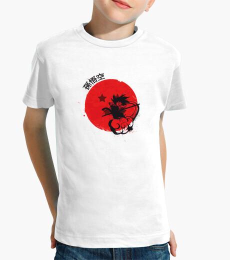 Ropa infantil rojo sol mono joven