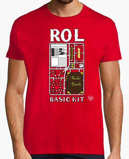 Camiseta Rol Basic Kit