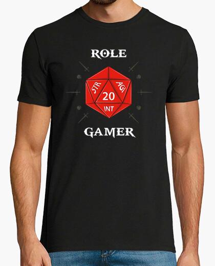 Tee-shirt rôle de joueur