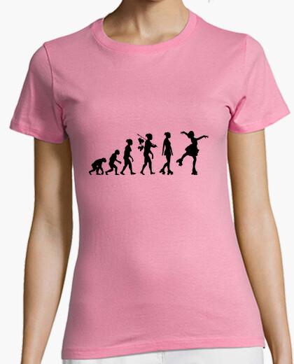Tee-shirt roller danse évolution 2