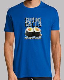rollos de sushi no roles de género