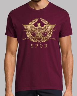 Roman Empire Emblem - Vintage Gold