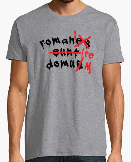 Tee-shirt romani ite domum