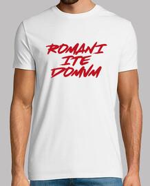 romani ite domum - rouge peint