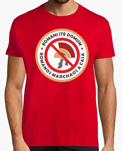 Camiseta Romanos Marchaos a Casa
