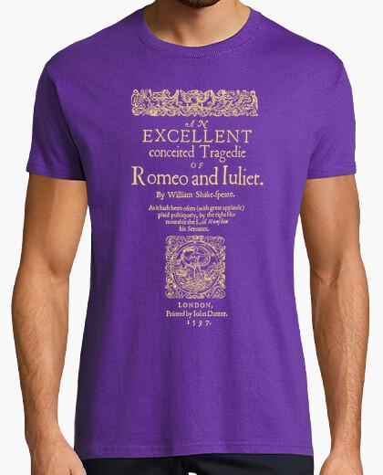 Romeo and juliet, 1597 (dark tees) t-shirt